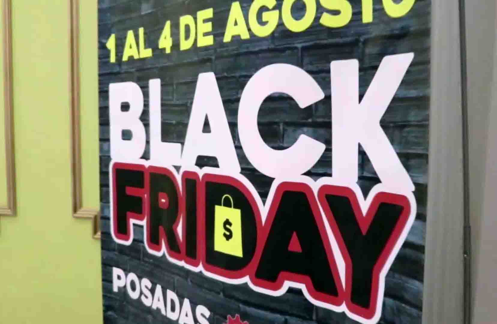 Black Friday 2019 del 1 al 4 de agosto