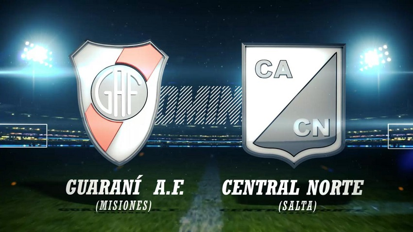 Guaraní Antonio Franco vs Central Norte de Salta en vivo por Canal 12